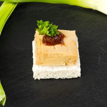 Plateau de 30 toasts foie gras-0