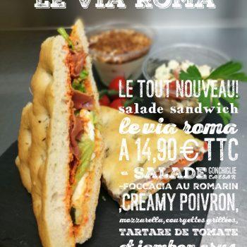 Coffret sandwich LE VIA ROMA -0