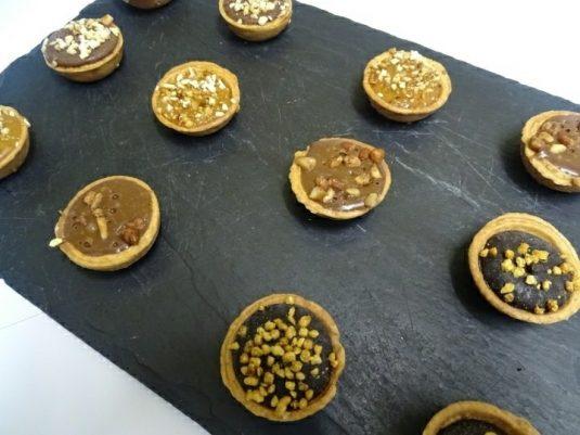 Plateau de 12 Mini Tartelettes Chocolat-0